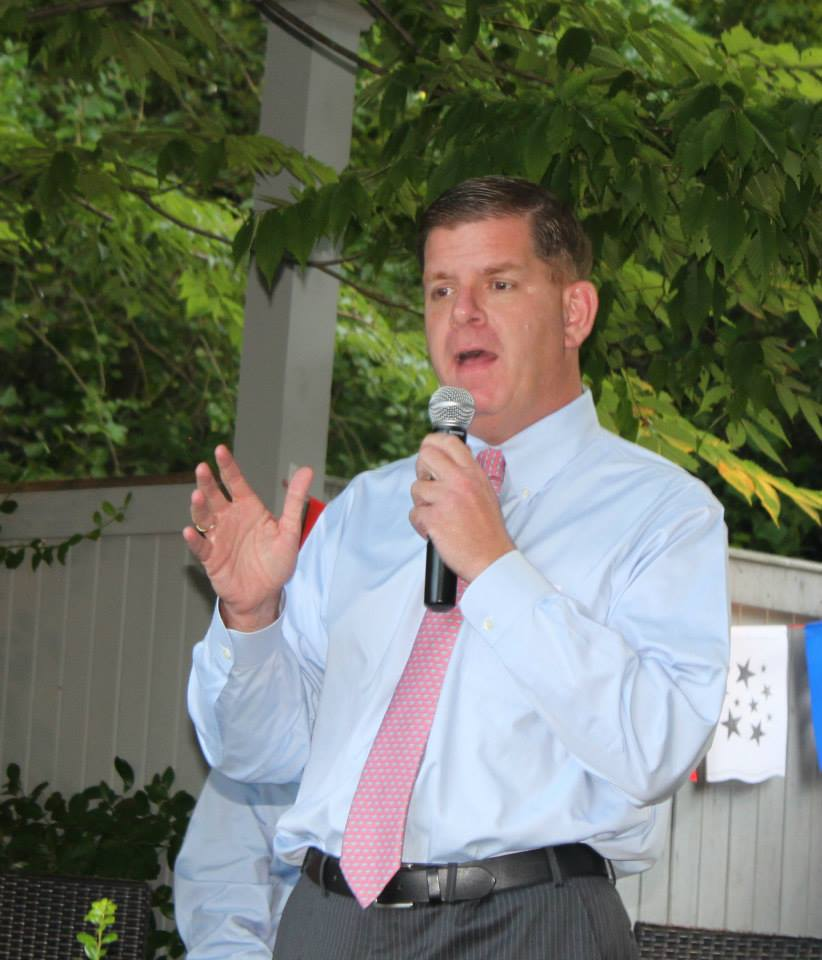 Candidate Marty Walsh