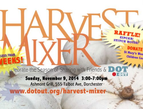 Harvest Mixer To Bring Mixing and Sharing to Ashmont