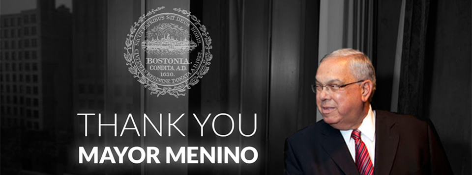 <b>Mayor Menino - 1942-2014</b>  We will miss you...