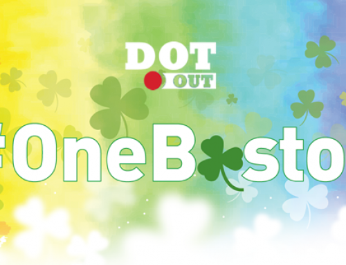DotOUT Shares the Rainbow (Flag) on St Patrick's Day